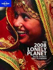 Cover of: Lonely Planet 2008 Desk Diary/Day Planner (Calendar)