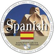 Cover of: Spanish Language Lab (Look Listen and Learn!)