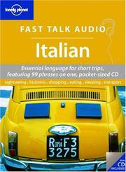 Cover of: Lonely Planet Fast Talk Audio Italian
