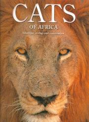 Cover of: Cats of Africa | Hinde, Gerald., Luke Hunter