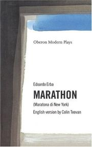 Cover of: Marathon