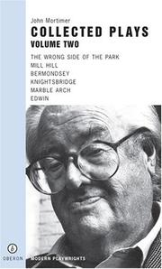 Cover of: Collected Plays | John Mortimer