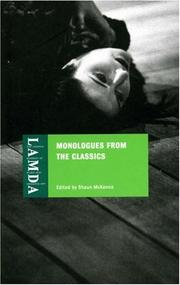 Monologues From The Classics