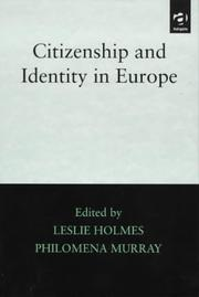 Cover of: Citizenship and identity in Europe