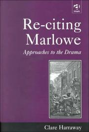 Cover of: Re-citing Marlowe
