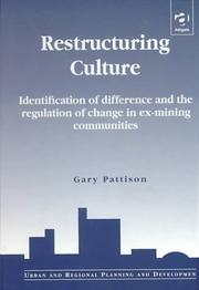 Cover of: Restructuring culture