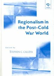 Cover of: Regionalism in the post-Cold War world |