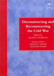 Cover of: Deconstructing and reconstructing the Cold War
