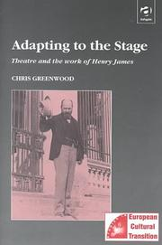 Cover of: Adapting to the stage