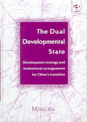 Cover of: The dual developmental state