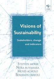 Cover of: Visions of sustainability
