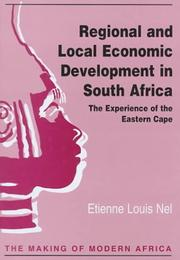 Cover of: Regional and local economic development in South Africa