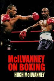 Cover of: McIlvanney on Boxing | Hugh McIlvanney