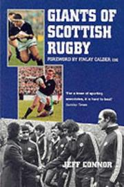 Cover of: Giants of Scottish rugby | Connor, Jeff.