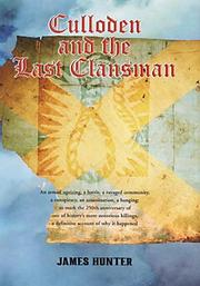 Cover of: Culloden and the last clansman