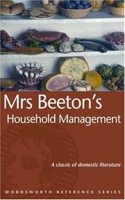 Cover of: Mrs Beeton's Household Management (Reference)