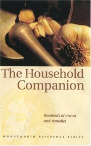 Cover of: The Household Companion (Reference)
