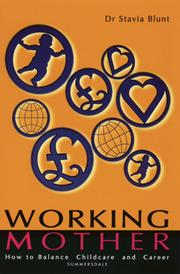 Cover of: Working Mother