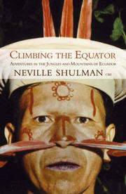 Cover of: Climbing the Equator, Running the Jungle