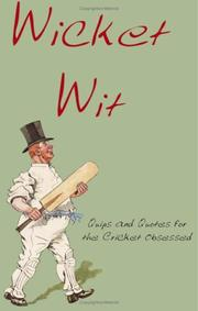 Cover of: Wicket Wit