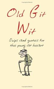 Cover of: Old Git Wit