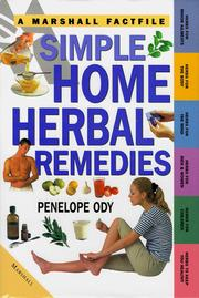 Cover of: Simple Home Herbal Remedies (A Marshall Factfile)