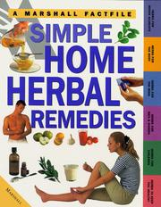 Cover of: Simple Home Herbal Remedies (Factfiles)