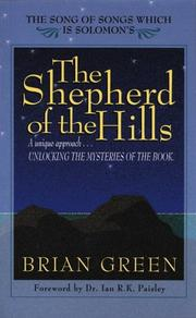 Cover of: Shepherd of the Hills