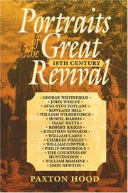 Cover of: Portraits of the Great Revival
