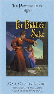 Cover of: For Biddle's sake
