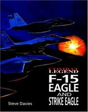 Cover of: F-15 Eagle & Strike Eagle -Cmbt Leg | Steve Davies