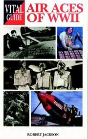 Cover of: Air aces of World War II