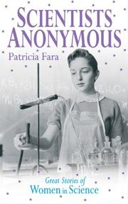 Cover of: Scientists Anonymous