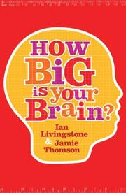 Cover of: How Big Is Your Brain?