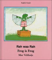 Cover of: Frog Is Frog (Somali-English)