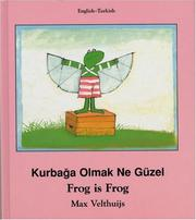 Cover of: Frog Is Frog (English-Turkish) (Frog series)