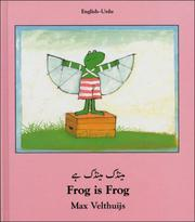 Cover of: Frog Is Frog (English-Urdu) (Frog series)