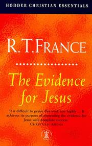 Cover of: Evidence for Jesus (Jesus Library) | France