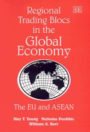 Cover of: Regional trading blocs in the global economy
