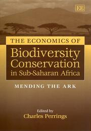 Cover of: The Economics of Biodiversity Conservation in Sub-Saharan Africa