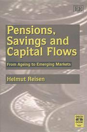 Cover of: Pensions, Savings and Capital Flows (In Association with the Organisation for Economic Co-operation)