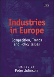 Cover of: Industries in Europe