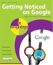 Cover of: Getting Noticed on Google in Easy Steps | Ben Norman