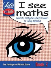 Cover of: I See Maths