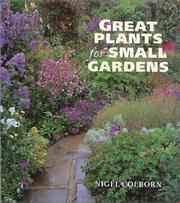 Cover of: Great Plants for Small Gardens