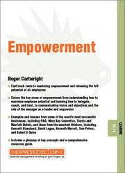 Cover of: Empowerment