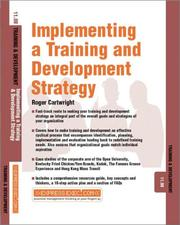 Cover of: Implementing a Training and Development Strategy (Training & Development)