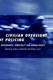 Cover of: Civilian Oversight of Policing |