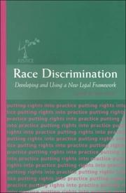 Cover of: Race discrimination |