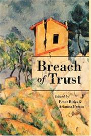 Cover of: Breach of trust |